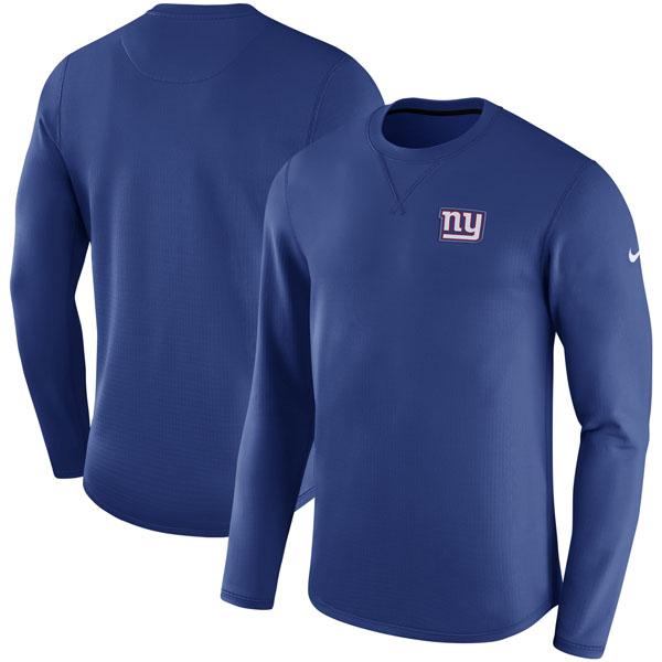 NFL ジャイアンツ サイドライン モダン ロングスリーブ スウェット ナイキ/Nike ロイヤル