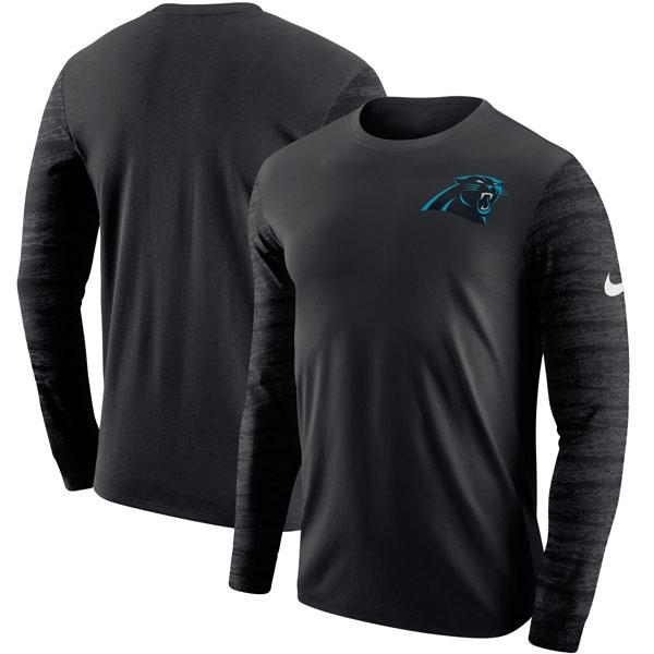 お取り寄せ NFL パンサーズ エンザイム ロングスリーブ Tシャツ ナイキ/Nike ブラック