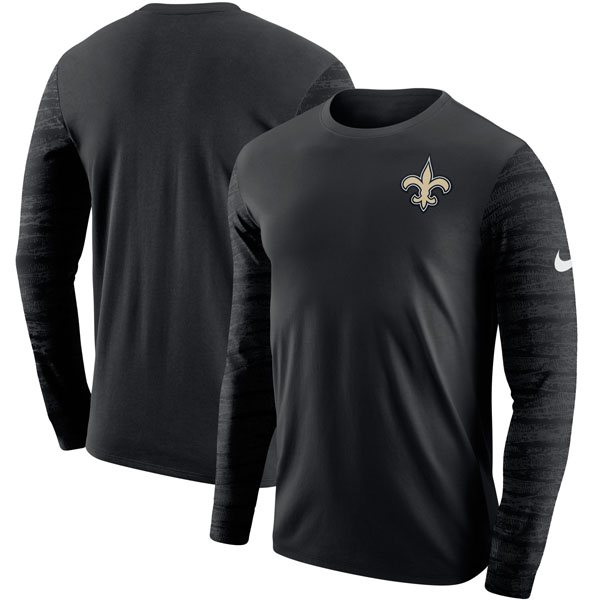 お取り寄せ NFL セインツ エンザイム ロングスリーブ Tシャツ ナイキ/Nike ブラック
