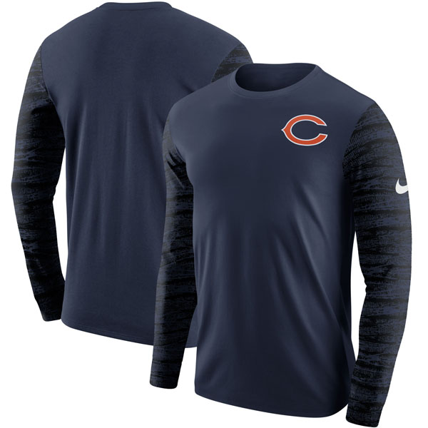 お取り寄せ NFL ベアーズ エンザイム ロングスリーブ Tシャツ ナイキ/Nike ネイビー