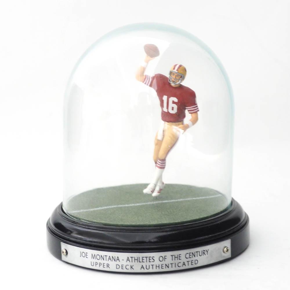 NFL 49ers ジョー・モンタナ アスリート・オブ・センチュリー フィギュア アッパーデック/Upper Deck レアアイテム