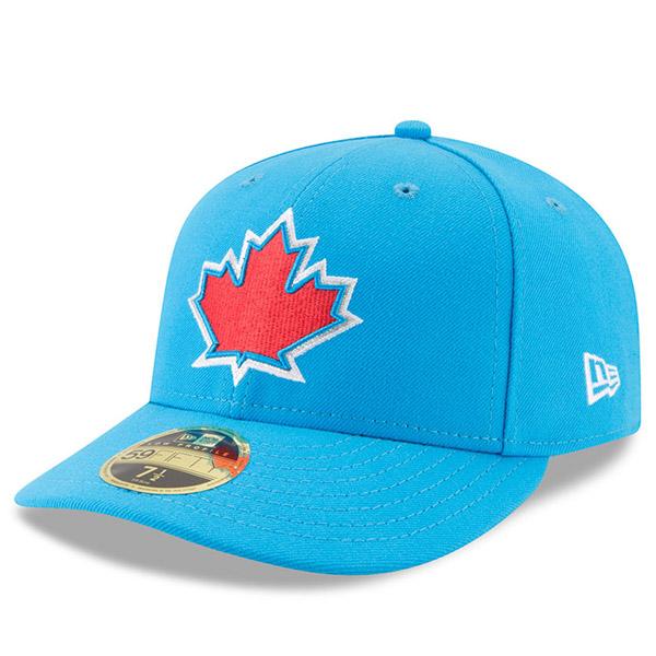 お取り寄せ MLB ブルージェイズ 2017 プレーヤーズ ウィークエンド ロープロファイル 59FIFTY キャップ/帽子 ニューエラ/New Era ブルー
