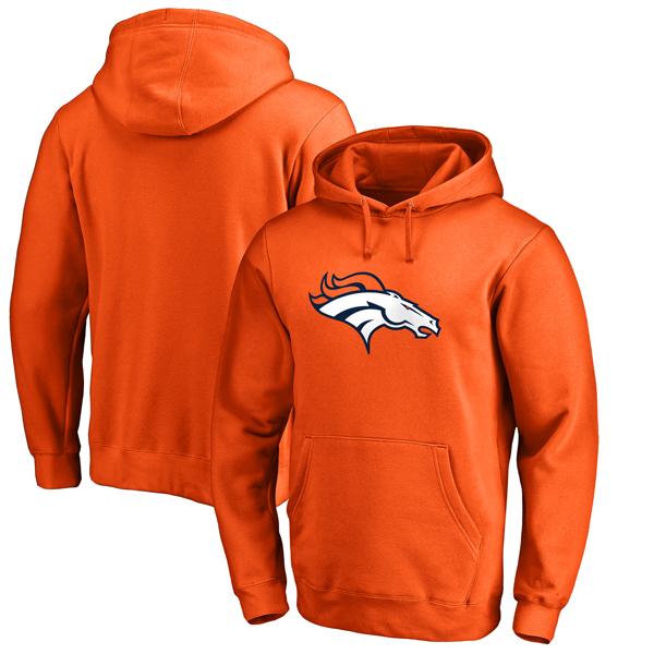 お取り寄せ NFL ブロンコス プライマリー ロゴ パーカー オレンジ