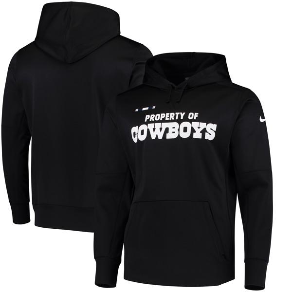 NFL カウボーイズ サイドライン プロパティ・オブ・パフォーマンス パーカー ナイキ/Nike ブラック