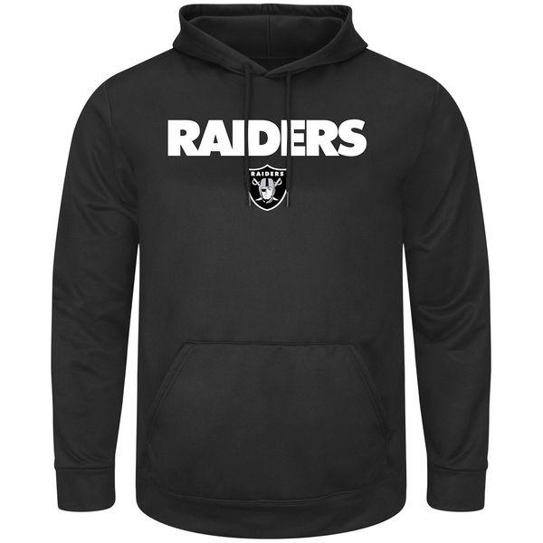 お取り寄せ NFL レイダース ピック シックス プルオーバー パーカー ブラック