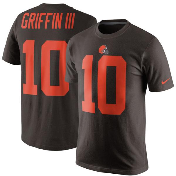 NFL ブラウンズ ロバート・グリフィンIII カラーラッシュ プレーヤー プライド ネーム&ナンバー Tシャツ ナイキ/Nike ブラウン