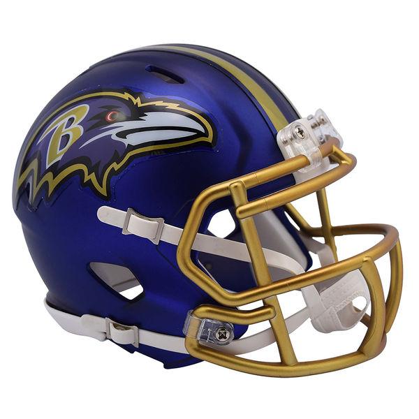 NFL レイブンズ ブレイズ レボリューション スピード ミニ フットボール ヘルメット リデル/Riddell