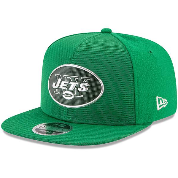 NFL ジェッツ 2017 カラーラッシュ 9FIFTY スナップバック アジャタブル キャップ/帽子 ニューエラ/New Era グリーン