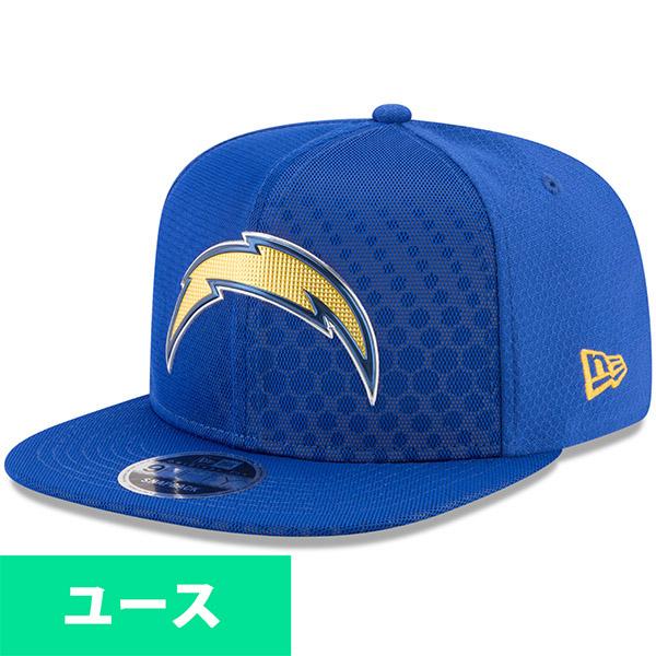 NFL チャージャーズ ユース 2017 カラーラッシュ 9FIFTY スナップバック アジャタブル キャップ/帽子 ニューエラ/New Era ネイビー