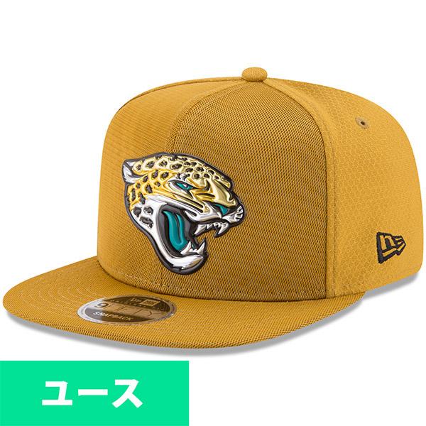 NFL ジャガーズ ユース 2017 カラーラッシュ 9FIFTY スナップバック アジャタブル キャップ/帽子 ニューエラ/New Era ゴールド