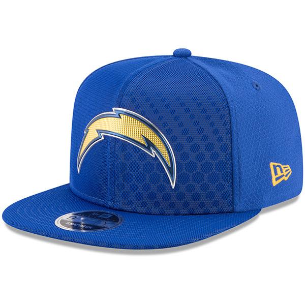 NFL チャージャーズ 2017 カラーラッシュ 9FIFTY スナップバック アジャタブル キャップ/帽子 ニューエラ/New Era ブルー
