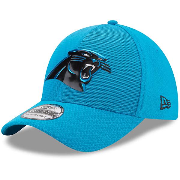 NFL パンサーズ 2017 カラーラッシュ 39THIRTY フレックス キャップ/帽子 ニューエラ/New Era ブルー