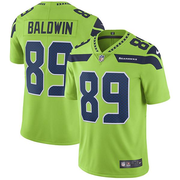NFL シーホークス ダグ・ボールドウィン カラーラッシュ リミテッド プレーヤー ユニフォーム/ユニホーム ナイキ/Nike ネオングリーン