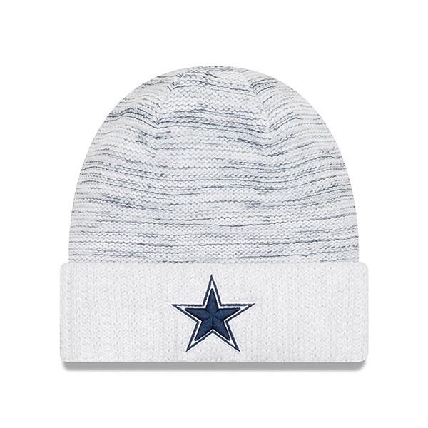 NFL カウボーイズ 2017 カラーラッシュ ニットキャップ/帽子 ニューエラ/New Era ホワイト