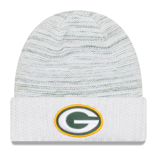 NFL パッカーズ 2017 カラーラッシュ ニットキャップ/帽子 ニューエラ/New Era ホワイト