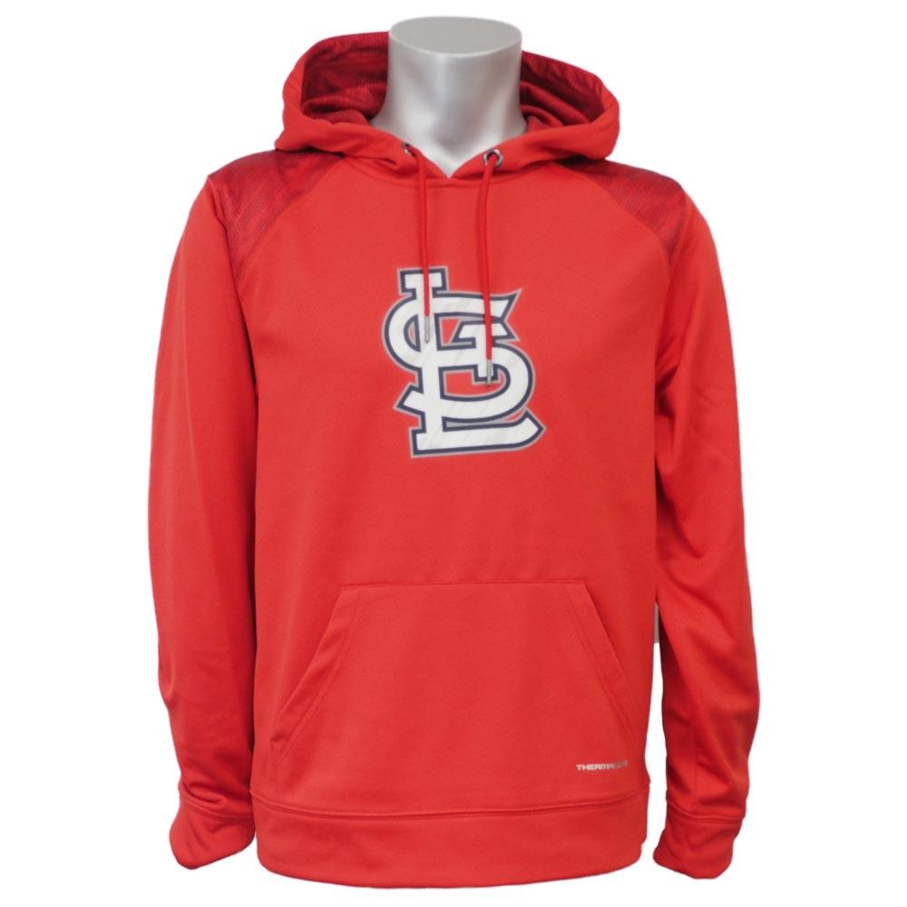MLB カージナルス アーマー パーカー/フーディー マジェスティック/Majestic レッド