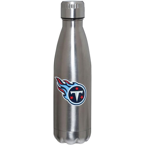 お取り寄せ NFL タイタンズ 16オンス ステンレス スチール ウォーターボトル/水筒