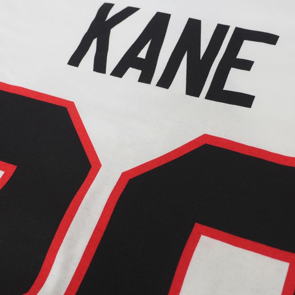 brand new d08f1 0de35 NHL Blackhawk spa trick Kane authentic silver jersey T-shirt Adidas /Adidas  white