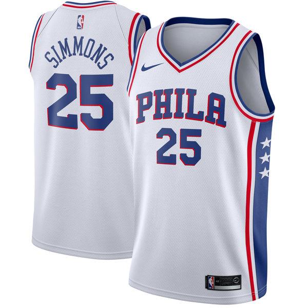 お取り寄せ NBA Nike/ナイキ 76ers ベン・シモンズ スウィングマン ユニフォーム/ユニホーム ホワイト