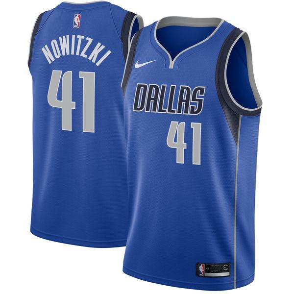 お取り寄せ NBA Nike/ナイキ マーベリックス ダーク・ノビツキー スウィングマン ユニフォーム/ユニホーム ロイヤル