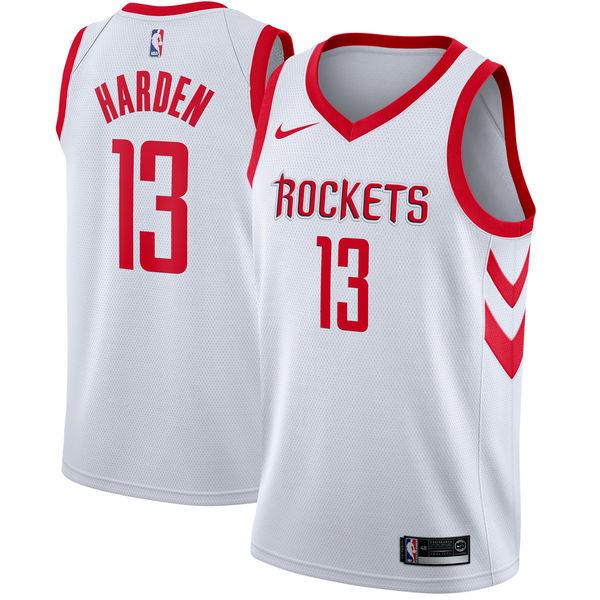 お取り寄せ NBA Nike/ナイキ ロケッツ ジェイムス・ハーデン スウィングマン ユニフォーム/ユニホーム ホワイト