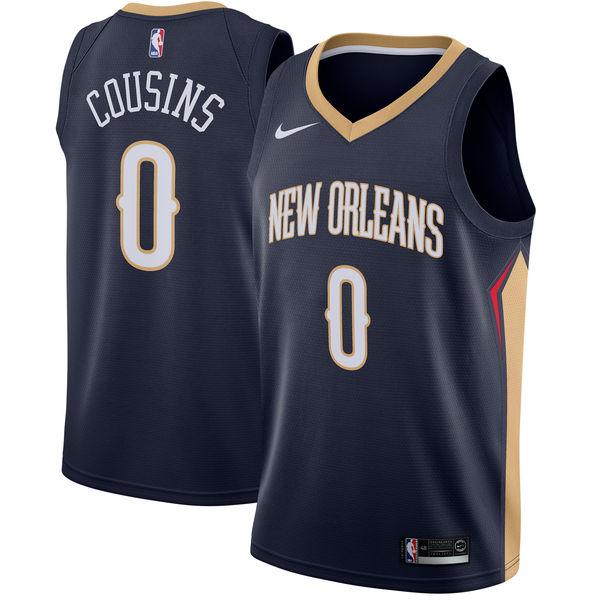 お取り寄せ NBA Nike/ナイキ ペリカンズ デマーカス・カズンズ スウィングマン ユニフォーム/ユニホーム ネイビー