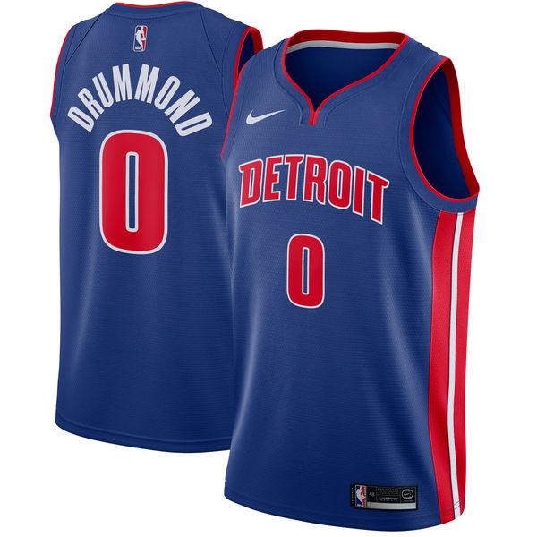 お取り寄せ NBA Nike/ナイキ ピストンズ アンドレ・ドラモンド スウィングマン ユニフォーム/ユニホーム ブルー【1025変更】