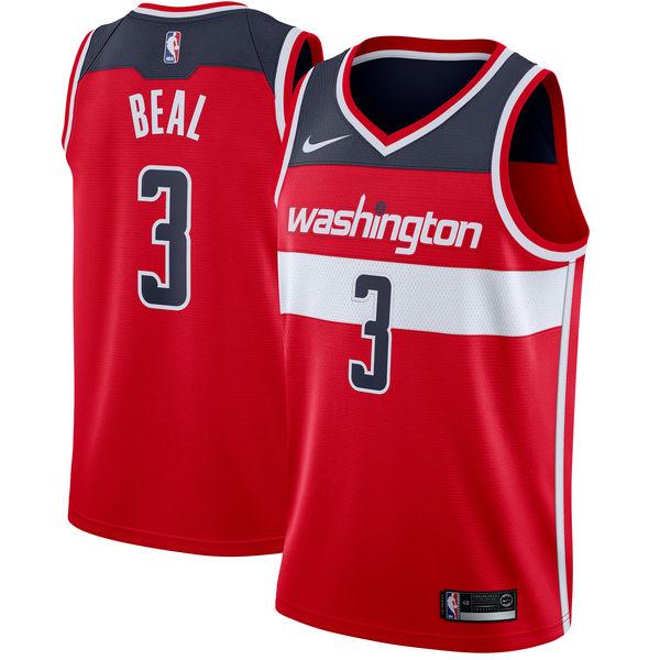 お取り寄せ NBA Nike/ナイキ ウィザーズ ブラッドリー・ビール スウィングマン ユニフォーム/ユニホーム レッド