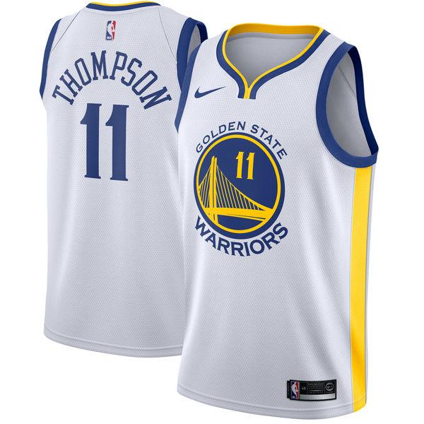 お取り寄せ NBA Nike/ナイキ ウォリアーズ クレイ・トンプソン スウィングマン ユニフォーム/ユニホーム ホワイト