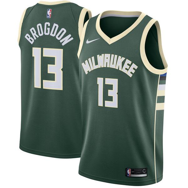 お取り寄せ NBA Nike/ナイキ バックス マルコム・ブログドン スウィングマン ユニフォーム/ユニホーム グリーン