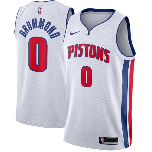 お取り寄せ NBA Nike/ナイキ ピストンズ アンドレ・ドラモンド スウィングマン ユニフォーム/ユニホーム ホワイト