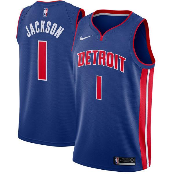 お取り寄せ NBA Nike/ナイキ ピストンズ レジー・ジャクソン スウィングマン ユニフォーム/ユニホーム ブルー