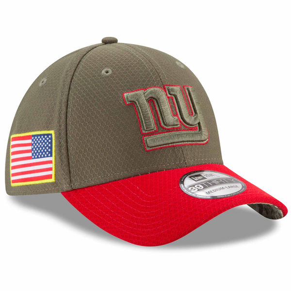 NFL ジャイアンツ 2017 Salute To Service 39THIRTY フレックス キャップ/帽子 ニューエラ/New Era