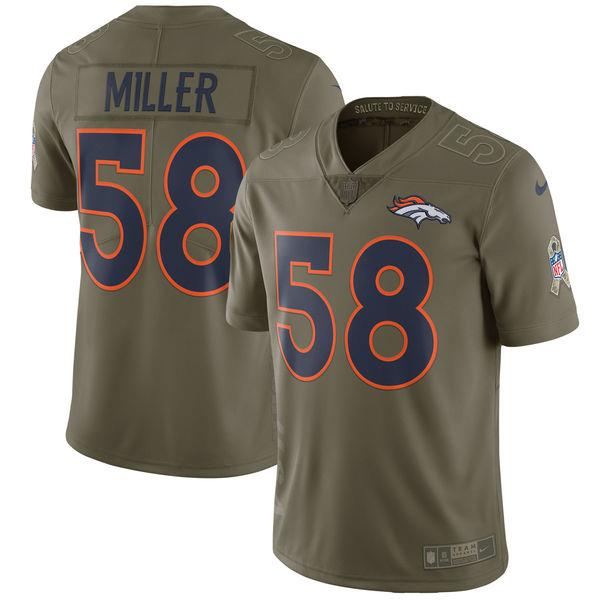 使い勝手の良い お取り寄せ NFL Salute ブロンコス ボン・ミラー To 2017 Salute ブロンコス To Service リミテッド ユニフォーム/ユニホーム ナイキ/Nike, 中標津町:7d907acf --- konecti.dominiotemporario.com