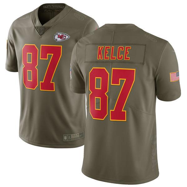 NFL チーフス トラビス・ケルス 2017 Salute To Service リミテッド ユニフォーム/ユニホーム ナイキ/Nike