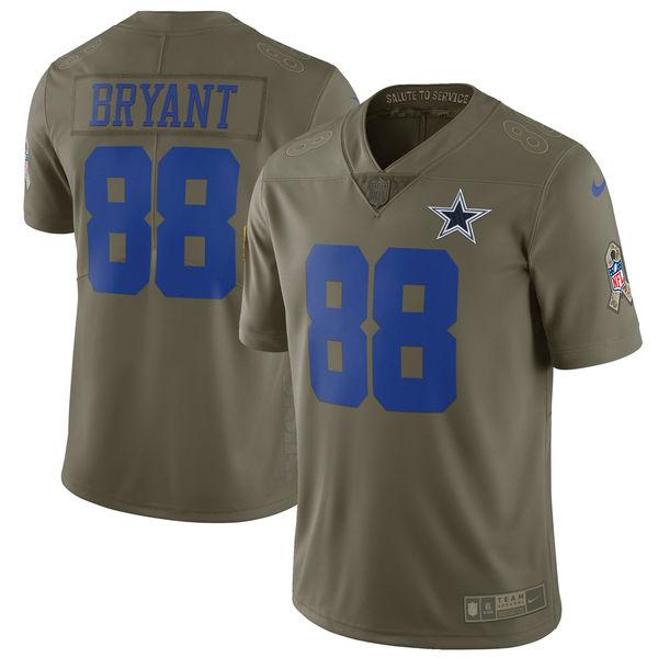 NFL カウボーイズ デズ・ブライアント 2017 Salute To Service リミテッド ユニフォーム/ユニホーム ナイキ/Nike