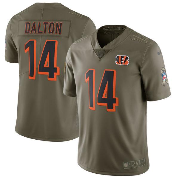 NFL ベンガルズ アンディ・ダルトン 2017 Salute To Service リミテッド ユニフォーム/ユニホーム ナイキ/Nike