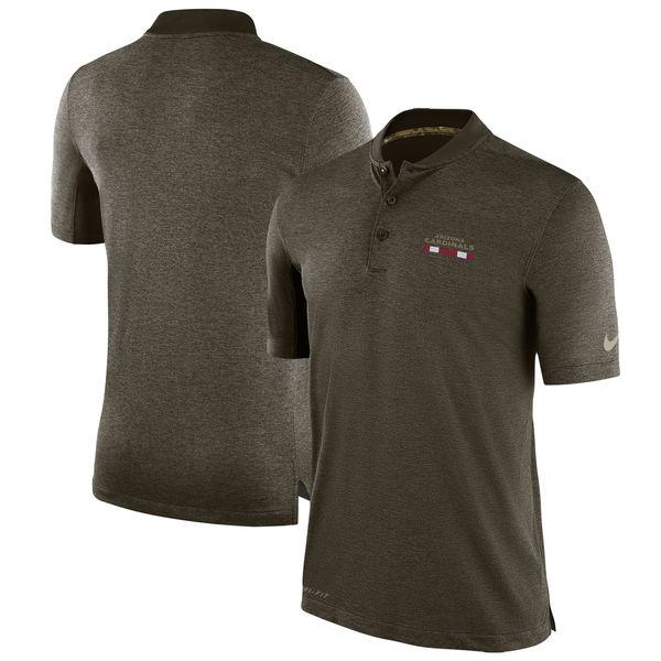 NFL カーディナルス 2017 Salute to Service サイドライン ポロシャツ ナイキ/Nike