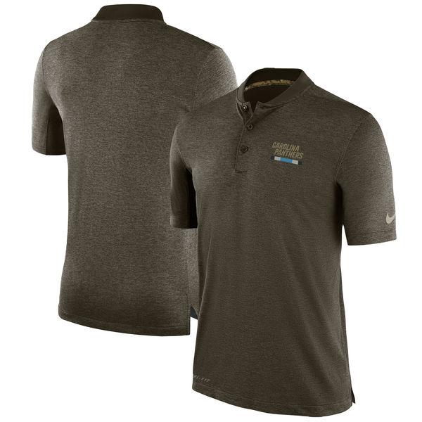 NFL パンサーズ 2017 Salute to Service サイドライン ポロシャツ ナイキ/Nike