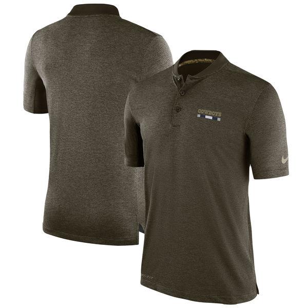 NFL カウボーイズ 2017 Salute to Service サイドライン ポロシャツ ナイキ/Nike