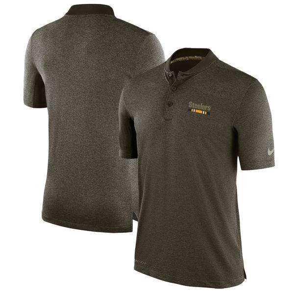 NFL スティーラーズ 2017 Salute to Service サイドライン ポロシャツ ナイキ/Nike