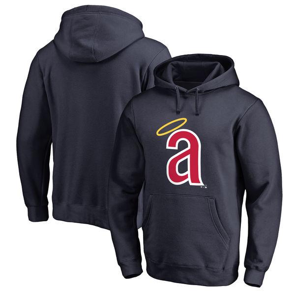 お取り寄せ MLB エンゼルス クーパーズタウン コレクション ハンティントン プルオーバー パーカー ネイビー