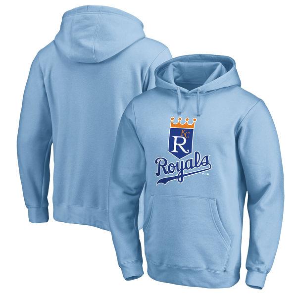 お取り寄せ MLB ロイヤルズ クーパーズタウン コレクション ハンティントン プルオーバー パーカー ライトブルー