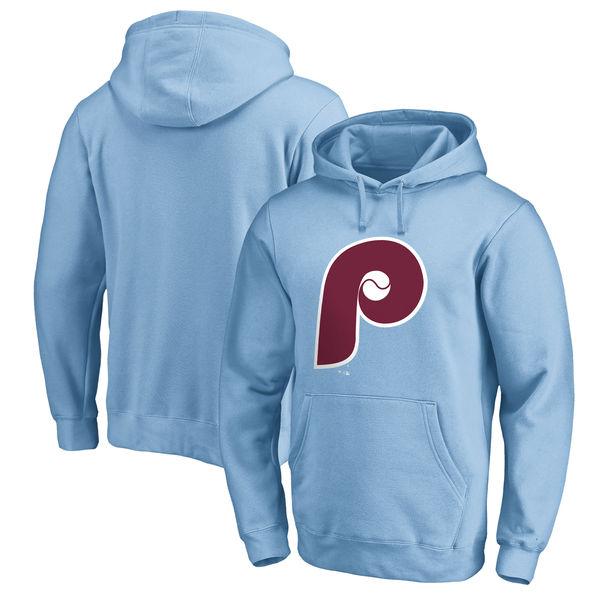 お取り寄せ MLB フィリーズ クーパーズタウン コレクション ハンティントン プルオーバー パーカー ライトブルー