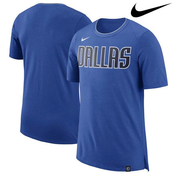 お取り寄せ NBA Nike/ナイキ マーベリックス バスケットボール ファン Tシャツ ブルー