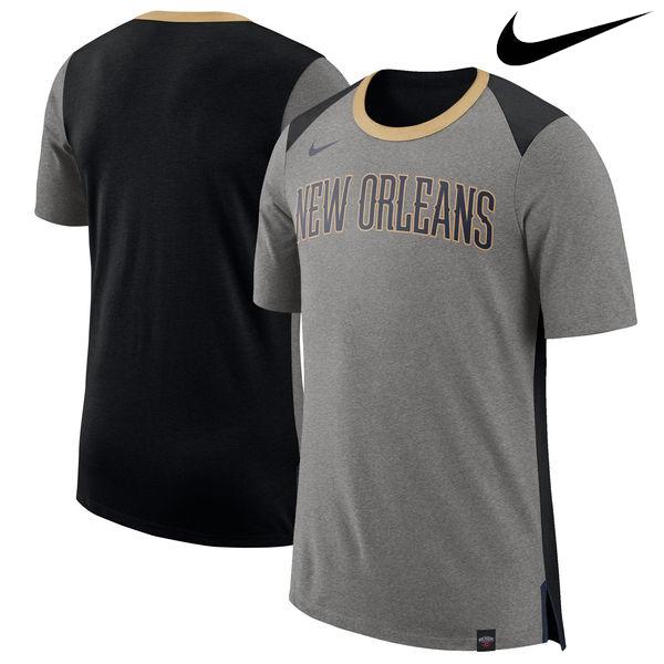 お取り寄せ NBA Nike/ナイキ ペリカンズ バスケットボール ファン Tシャツ グレー