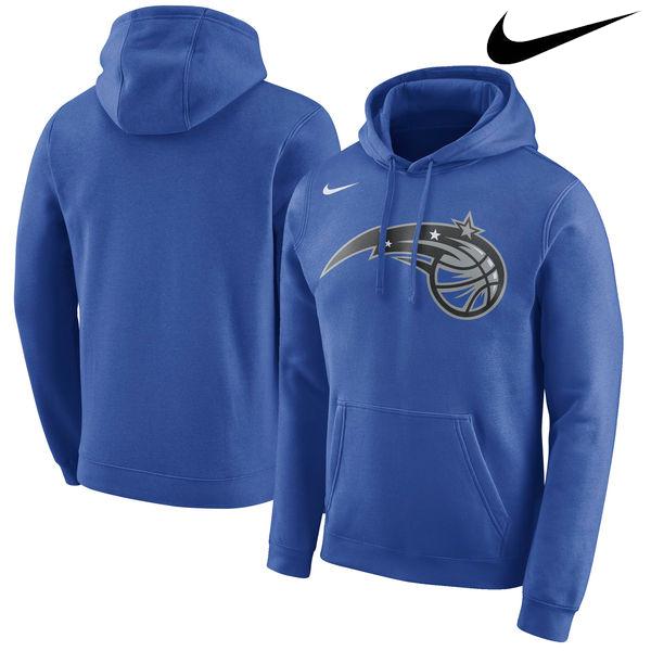 お取り寄せ NBA Nike/ナイキ マジック ロゴ クラブ パーカー ブルー