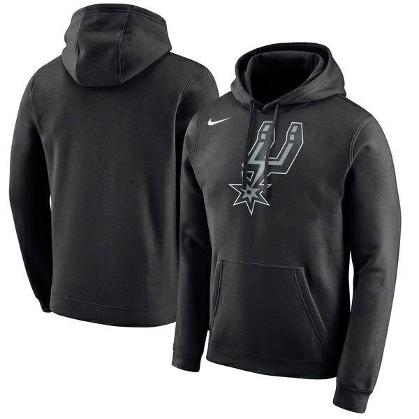 NBA Nike/ナイキ スパーズ ロゴ クラブ パーカー ブラック