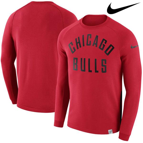 お取り寄せ NBA ブルズ モダン クルー スウェットシャツ ナイキ/Nike レッド