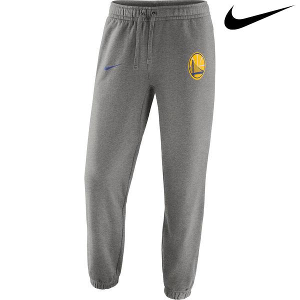お取り寄せ NBA Nike/ナイキ ウォリアーズ クラブ フリース パンツ グレー